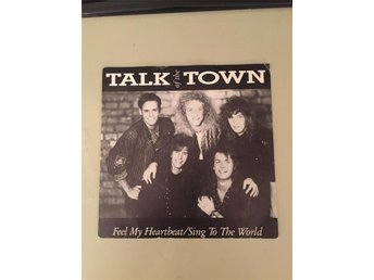 Talk Of The Town Feel My Heartbeat singel 1988 Candlemass Therion Alien