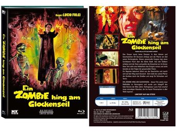 City of the Living Dead (1980) Limited MEDIABOOK 666 ex - Lucio Fulci - UNCUT (D