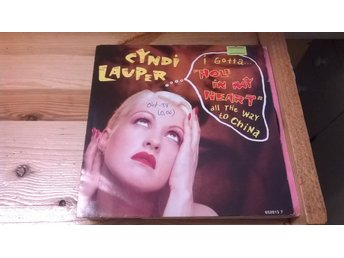 Cyndi Lauper - Hole In My Heart (All The Way To China), EP