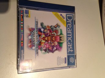 Dreamcast spel Phantasy stat online