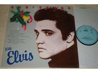 Elvis Presley LP Christmas With Elvis 1986 VG++