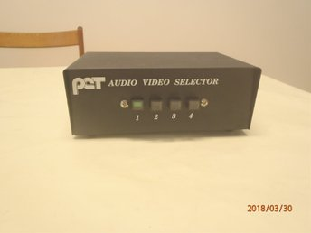 PCT - Audio/Video-selector (vintage)