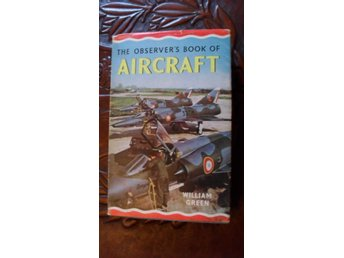 THE OBSERVER'S BOOK OF AIRCRAFT  1965 EDITION  WILLIAM GREEN