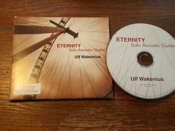 ULF WAKENIUS Solo Acoustic Guitar - Eternity, Promo CD Spice of life Japan 2005