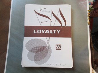 LOYALTY - NOTER