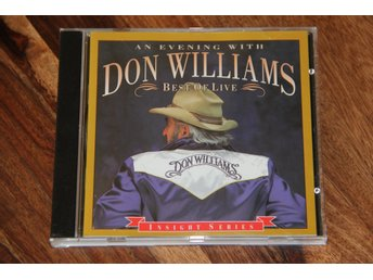 Don Williams (2) ‎– An Evening With Don Williams - Best Of Live
