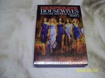 Desparate Housewiwes - Säsong 4 - DVD-BOX