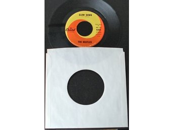 "7"" vinyl Beatles-Slow down (Usa)"