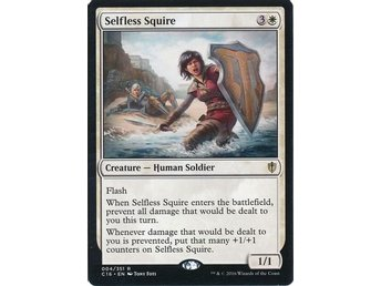 MtG, Selfless Squire, Commander 2016