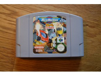 N64 Nintendo 64 ,Micro Machines 64 Turbo