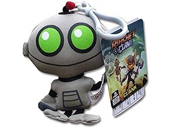 Ratchet and Clank Plush Nyckelring Clank 11cm (NY)