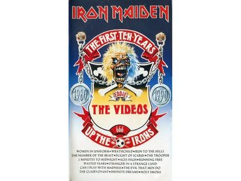Iron Maiden -The First Ten Years The Videos vhs orig eur PAL