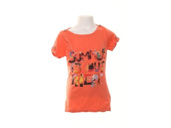 Emoi By Emonite, T-shirt, Strl: 140, Orange/Flerfärgad