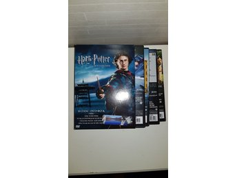 DVD BOX MED 4 FILMER HARRY POTTER 8 DISC