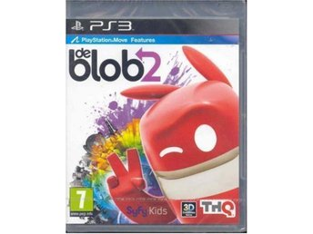 PLAYSTATION MOVE SPEL - DE BLOB ( INPLASTAT PS3 SPEL )