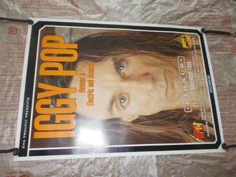 Iggy Pop turnéposter