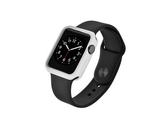 Devia Apple Watch 42mm Ultra-Tunt Skyddande Skal - Vit
