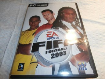 dataspel PC cd room fifa football 2003
