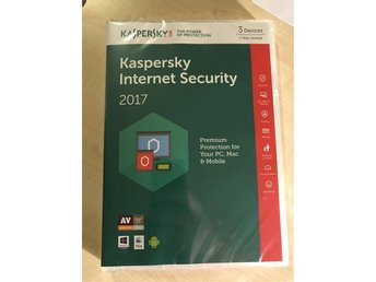 Kaspersky Internet Security MultiDevice 2017, 3 anv 1år