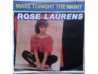 "Rose Laurens title* Make Tonight The Night* Synth-pop 7"" Germany"