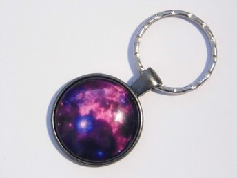 Planeter och utrymme nyckelring / Space and planets keyring