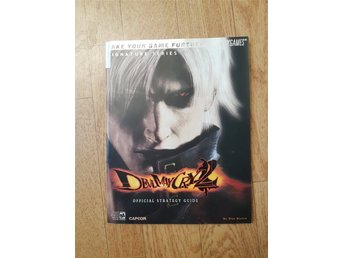 Devil May Cry 2 paket (Strategy guide med poster + PS2 spel)