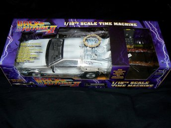 Back to the Future II: Iced Time Machine Collector Set DELOREAN (Ny/oöppnad)
