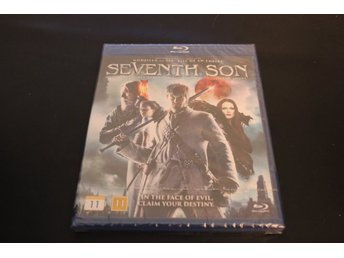 Bluray-film: Seventh Son (Jeff Bridges, Alicia Wikander) (NY, INPLASTAD!)