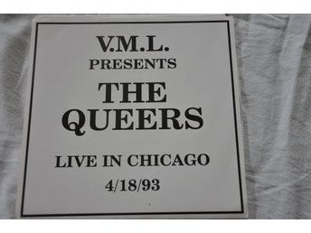 Queers. Live in Chicago.  7""