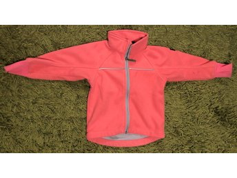 Vindfleece från Polarn o pyret i strl 92, rosa, Pop, ws, windstopper