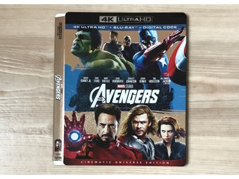 The Avengers 4K slipcover (BARA SLIPCOVER)