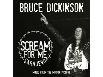 Bruce Dickinson -Scream for me Sarajevo dlp Iron Maiden sing