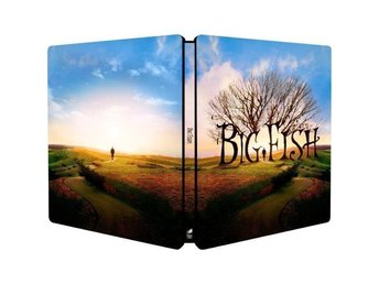 BIG FISH (Lmtd STEELBOOK) Rare Edition - Tim Burton, Ewan McGregor Albert Finney