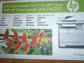 Skrivare HP Color LaserJet CM2320 MFP Series