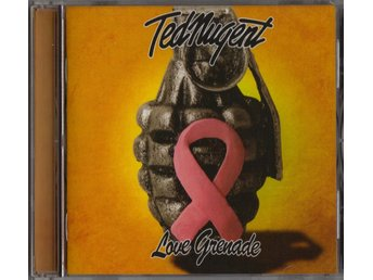 TED NUGENT  - Love Grenade CD (INPLASTAD)