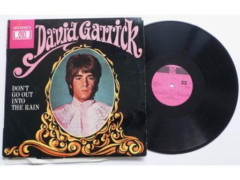 ** David Garrick - Don't go out Into the Rain **