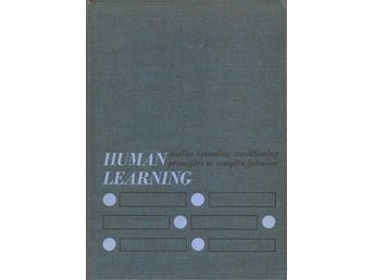 Arthur W. Staats: Human learning.