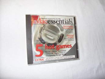 iMac Essentials CD ROM med demos, program och shareware