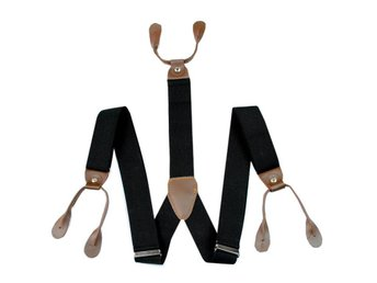 New Adjustable Button holes Unisex suspenders