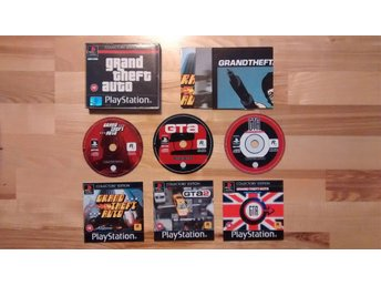 Grand Theft Auto (GTA) Collection, Playstation