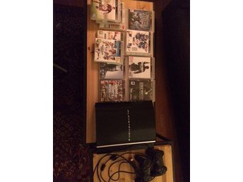 Playstation 3, konsol + spel