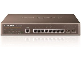 TP-Link TL-SG3210 JetStream - 8-Port Gigabit L2 Managed Switch with 2 SFP Slots