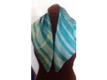 sjal scarf 70-tal retro - Gustavsberg - sjal scarf 70-tal retro - Gustavsberg