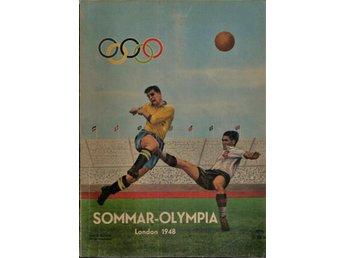 ** NILSSON, TORE. Sommar-Olympia 1948 ** - Gnosjö - ** NILSSON, TORE. Sommar-Olympia 1948 ** - Gnosjö
