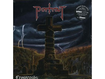 PORTRAIT-Crossroads-Ny LTD 500ex LP 180g Deluxe Art Print-Swedish Heavy Metal