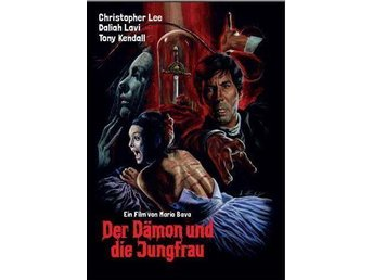 THE WHIP AND THE BODY (Mediabook DVD Blu-ray) 1963 Christopher Lee, Daliah Lavi - Norrsundet - THE WHIP AND THE BODY (Mediabook DVD Blu-ray) 1963 Christopher Lee, Daliah Lavi - Norrsundet