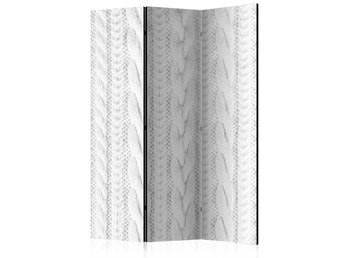 Rumsavdelare - White Knit Room Dividers 135x172