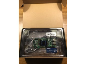 Adaptec RAID 6805E KIT. Kontrollerkort Server, 2st Mini SAS Kablar...