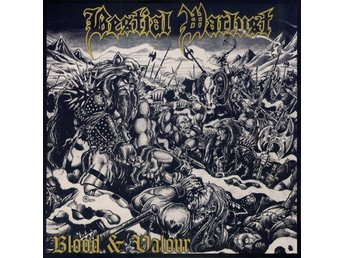 Bestial Warlust -Blood and valour LP Australian extreme meta