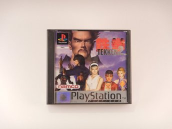 Playstation / 1 Ps1   --  Tekken 2  --   PAL